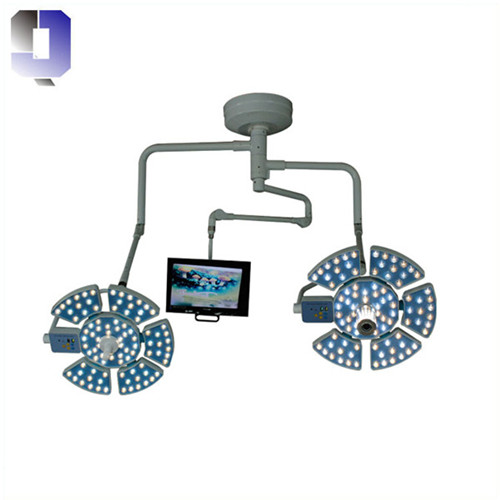 JQ-LED0606  surgical light with camera and LCD system