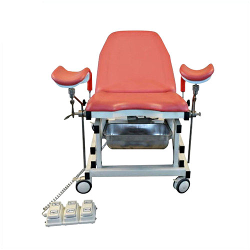 JQ-02C portable gynecology examination chair electric medical chair on wheels