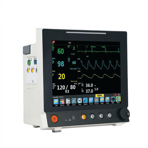 JQ-6307Plus  Multiparameter touch screen 12inch medical monitor