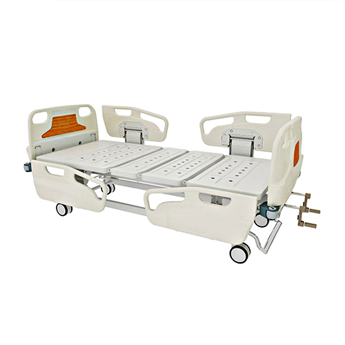 JQ-FN-1  Medical ABS material double shake nursing bed