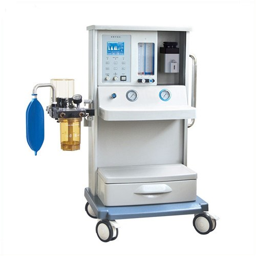 JQ-01B Cheap price simply anesthesia machine with economic vaporizer and LCD screen