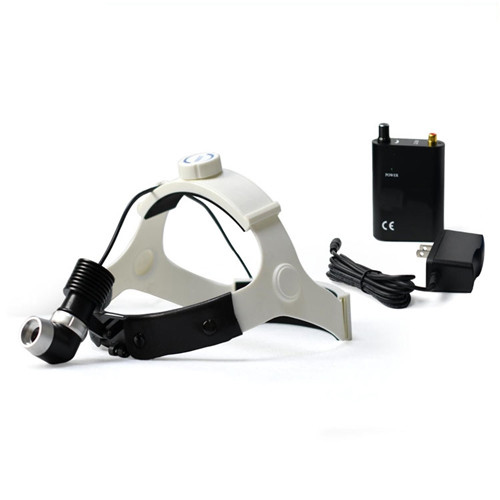 All-in-Ones medical led examination light dental headlight with double lens binocular loupes