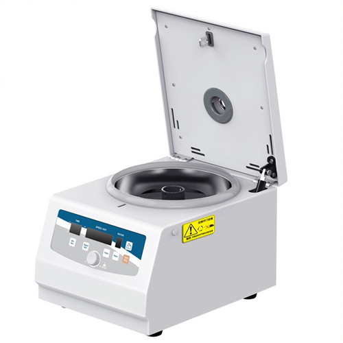 JQ-M15G Single-button rotation control Micro air cooling benchtop high speed centrifuge