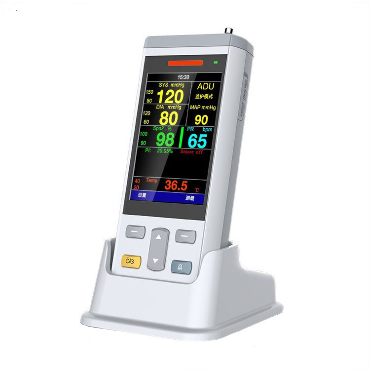 JQ-VT200A 3.5inch handheld vital signs patient monitor