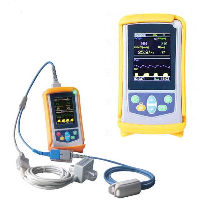 JQ-NM200B Handheld Oximetry and Capnography Monitor