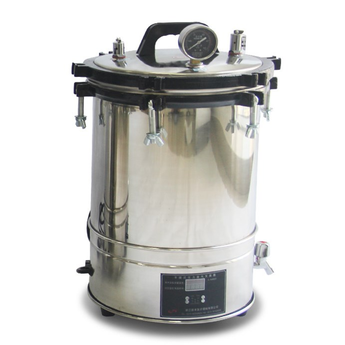 8L 18L 24L volume electric heating portable steam sterilizer