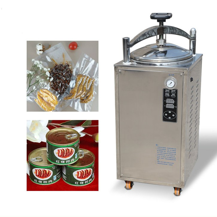 Counter pressure autoclave for vacuum package, glass can,tinfoil package,canned food sterilization